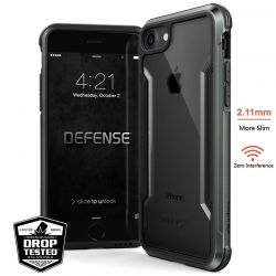 X-Doria Defense Shield - Etui aluminiowe iPhone SE 2020 / 8 / 7 (Black)
