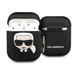 Karl Lagerfeld - Etui Apple Airpods (black)