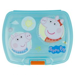 Peppa Pig - Single Sandwich Box