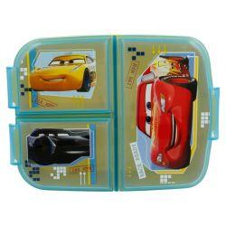 Cars - Lunchbox z przedziałką
