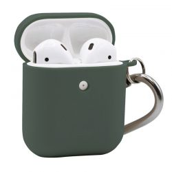 PURO Green Compostable Eco-friendly Cover - Ekologiczne etui Apple AirPods 1&2 (zielony)