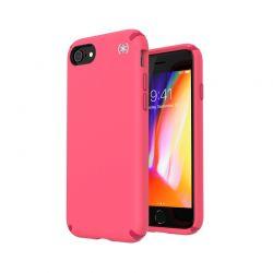 Speck Presidio2 Pro - Etui iPhone SE 2020 / 8 / 7 / 6s z powłoką MICROBAN (Goji Berry Pink/Silk Scarf Red/Zeal Tea)