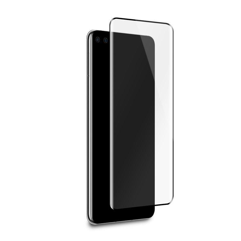 PURO Frame Tempered Glass - Szkło ochronne hartowane na ekran Huawei P40 Pro (czarna ramka)