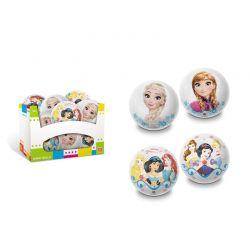 Frozen & Princess - Piłka błyszcząca 100 mm Wybór Losowy