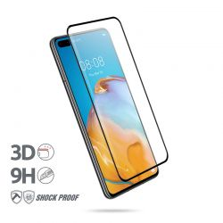 Crong 3D Armour Glass – Szkło hartowane 9H na cały ekran Huawei P40 + ramka instalacyjna