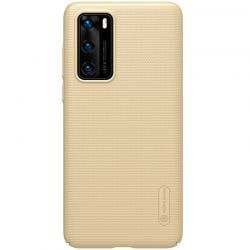 Nillkin Super Frosted Shield - Etui Huawei P40 (Golden)