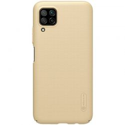Nillkin Super Frosted Shield - Etui Huawei P40 Lite / Nova 7i / Nova 6 SE (Golden)