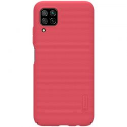 Nillkin Super Frosted Shield - Etui Huawei P40 Lite / Nova 7i / Nova 6 SE (Bright Red)