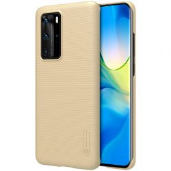 Nillkin Super Frosted Shield - Etui Huawei P40 Pro (Golden)