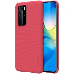 Nillkin Super Frosted Shield - Etui Huawei P40 Pro (Bright Red)