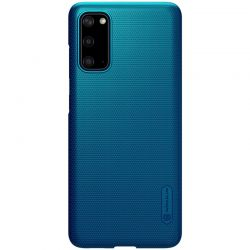 Nillkin Super Frosted Shield - Etui Samsung Galaxy S20 (Peacock Blue)