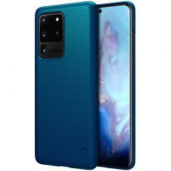 Nillkin Super Frosted Shield - Etui Samsung Galaxy S20 Ultra (Peacock Blue)