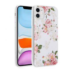 Crong Flower Case – Etui iPhone 11 (wzór 02)