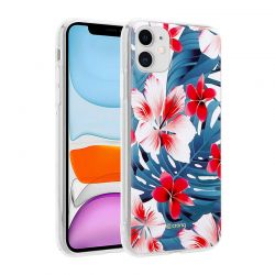 Crong Flower Case – Etui iPhone 11 (wzór 03)