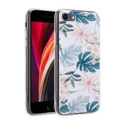 Crong Flower Case – Etui iPhone SE 2020 / 8 / 7 (wzór 01)