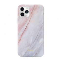 Crong Marble Case – Etui iPhone 11 Pro (różowy)
