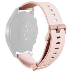 PURO ICON Multibrand Wristband – Uniwersalny pasek smartwatch 22 mm (S/M & M/L) (piaskowy róż)