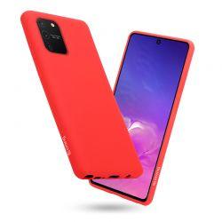 Crong Color Cover - Etui Samsung Galaxy S10 Lite (czerwony)