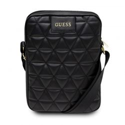 """Guess Quilted Tablet Bag - Torba na notebooka / tablet 10"""" (czarny)"""