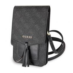 Guess 4G Uptown Wallet Phone Bag - Torba z przegrodą na smartfona (czarny)