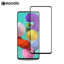 Mocolo 3D 9H Full Glue - Szkło ochronne na cały ekran Samsung Galaxy A51 (Black)
