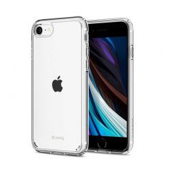 Crong Crystal Shield Cover - Etui iPhone SE 2020 / 8 / 7 (przezroczysty)