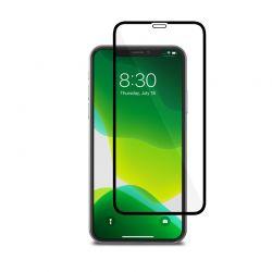 Moshi AirFoil Pro – Elastyczne szkło hybrydowe iPhone 11 Pro / Xs / X (czarna ramka)