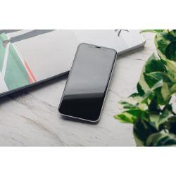 Moshi AirFoil Pro – Elastyczne szkło hybrydowe iPhone 11 / XR (czarna ramka)