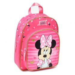 Minnie Mouse - Plecak dziecięcy (różowy)