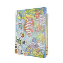 Viga 58423 Magnetyczne puzzle - łowimy rybki