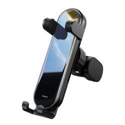 Baseus Penguin Gravity Phone Holder - Grawitacyjny uchwyt samochodowy (czarny)