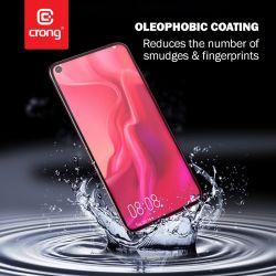 Crong 7D Nano Flexible Glass - Szkło hybrydowe 9H na cały ekran Xiaomi Redmi Note 9