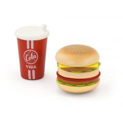 Zestaw Hamburger i Cola