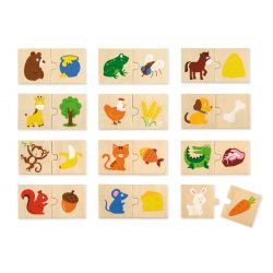 Puzzle nakarm zwierzątko