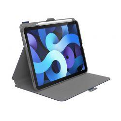 "Speck Balance Folio - Etui iPad Air 4 10.9"" (2020) z powłoką MICROBAN (Arcadia Navy/Moody Grey)"