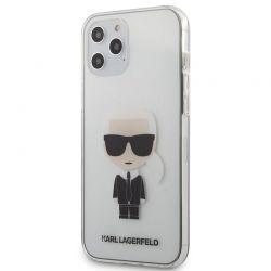 Karl Lagerfeld Ikonik - Etui iPhone 12 Pro Max (przezroczysty)