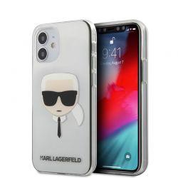 Karl Lagerfeld Head - Etui iPhone 12 Mini (przezroczysty)