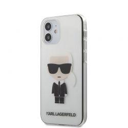 Karl Lagerfeld Ikonik - Etui iPhone 12 Mini (przezroczysty)