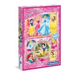 Clementoni - Puzzle Princess 2x60 ele.