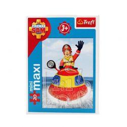 Trefl - Puzzle Strażak Sam Mini / Maxi 20 ele.