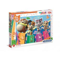 Clementoni - Puzzle Cats 44  104 ele.