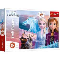 Trefl - Puzzle Frozen 2 Odawaga Sióstr 30 ele.