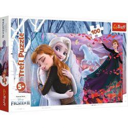 Trefl - Puzzle Frozen 2 Razem na zawsze 100 ele.