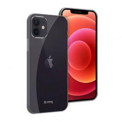Crong Crystal Slim Cover - Etui iPhone 12 Mini (przezroczysty)