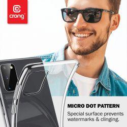 Crong Crystal Slim Cover - Etui Samsung Galaxy M21 (przezroczysty)