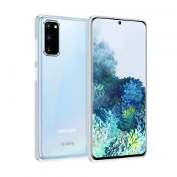Crong Crystal Slim Cover - Etui Samsung Galaxy S20 FE (przezroczysty)