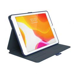 """Speck Balance Folio - Etui iPad 10.2"""" 8 (2020) / 7 (2019) z powłoką MICROBAN (Coastal Blue/Charcoal Grey)"""