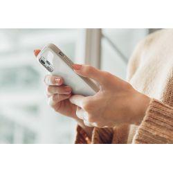 Moshi iGlaze - Etui iPhone 12 / iPhone 12 Pro (system SnapTo) (Pearl White)