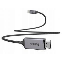 Baseus Adapter- przejściówka kabel USB-C na HDMI 4K HD Video 1.8m
