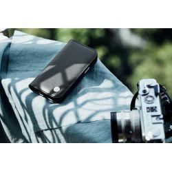 Moshi Overture - Etui 2w1 iPhone 12 / iPhone 12 Pro z kieszeniami na karty + stand up (system SnapTo) (Jet Black)